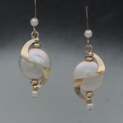 Coin Orbit Earrings