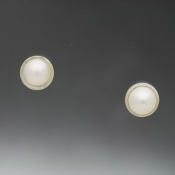 E-STUDS-PEARL-5MM-WHITE