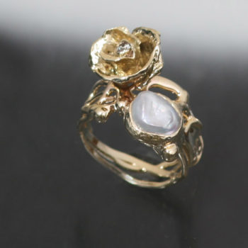 UR-ROSE-RING-14K-DIAMOND-PEARL